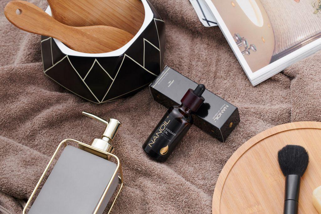 Nanoil Arganöl zur Haarpflege